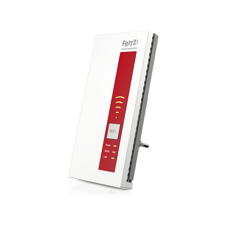 AVM FRITZ!WLAN Repeater 1750E - Dual WLAN AC + N do 1300 MBit/s 5GHz + 450MBit/s 2,4GHz