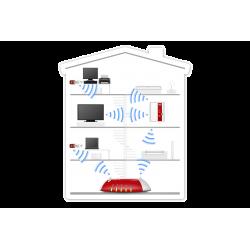 AVM FRITZ!WLAN Repeater 450E 450 MBit/s, Gigabit LAN, WPA2
