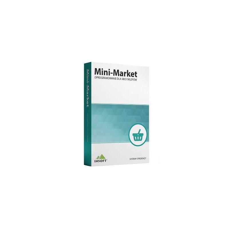 Mini-Market – stanowisko kasowo-magazynowe wersja Standard
