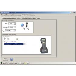 Manager SGT - oprogramowanie obsługi kolektora danych dla Subiekt GT