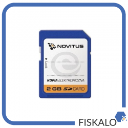 Karta SD Novitus - elektroniczny nośnik danych