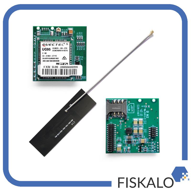 Modem wewnętrzny GSM 3G dla drukarki Novitus Deon Online