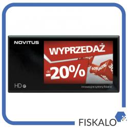 Drukarka fiskalna NOVITUS HD E z wyświetlaczem wolnostojącym